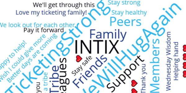 INTIX Raises $27,400 for COVID-19 Member Relief Fund … and Donations Are Still Coming In!