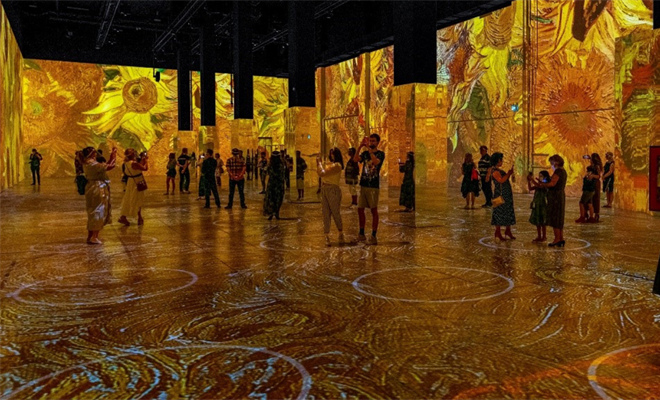 Immersive van Gogh Success Drives Live Events Forward During the Pandemic