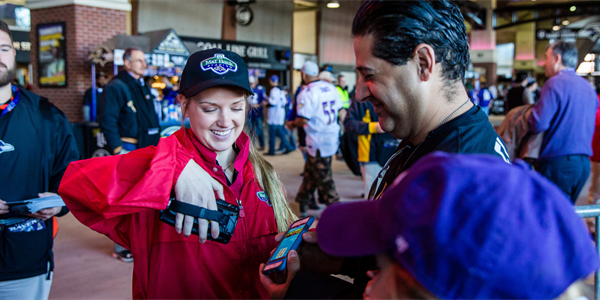 The Baltimore Ravens Talk Transition to Mobile-Only Ticketing